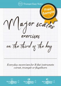 Trumpet Easy Notes – Easy to read trumpet studies in pdf